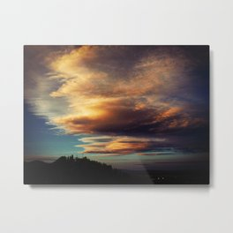 Cloud Factory Metal Print