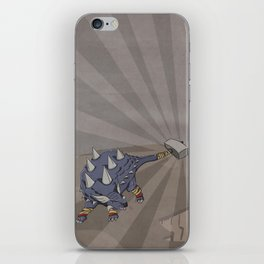 Ankylothorus - Superhero Dinosaurs Series iPhone Skin
