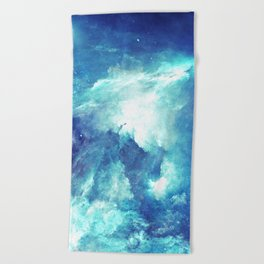 Stardust Path Beach Towel
