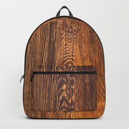 Old wood texture Backpack