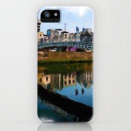 Dublin Ha'Penny Bridge iPhone Case