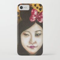 minnie iPhone & iPod Cases featuring minnie by NAME THEGREY