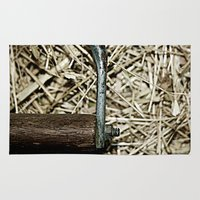 hook Area & Throw Rugs featuring Hay Hook by Urlaub Photography