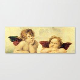 Cherubim Angels Sistine Madonna Raphael Canvas Print