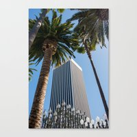ashton irwin Canvas Prints featuring Robert Irwin Primal Palm Garden by The Horticult