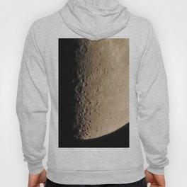 Moon craters in detail Hoody