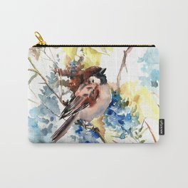 Sparrow in the Field Carry-All Pouch