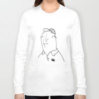 nan lawson Long Sleeve T-shirts featuring Swear on me nan  by Jacob Wise