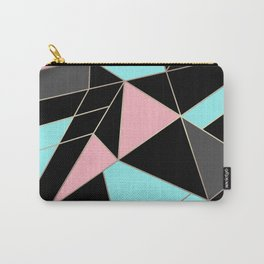 Abstraction . 5 geometric pattern Carry-All Pouch