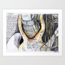 El atolladero Art Print