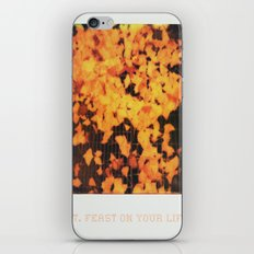Love After Love iPhone & iPod Skin