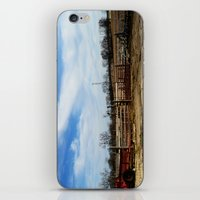 farm iPhone & iPod Skins featuring Farm by 100 Watt Photography