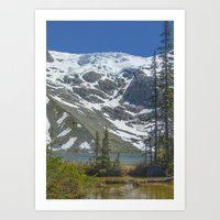 Joffre Glacier Art Print