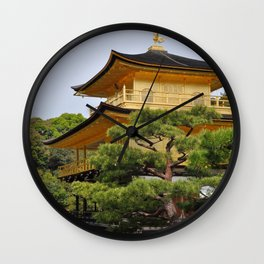Temple of the Golden Pavillion Wall Clock