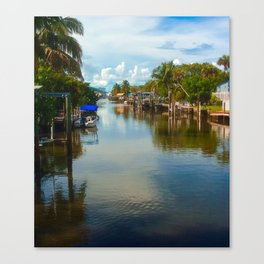 Peaceful Relection Canvas Print