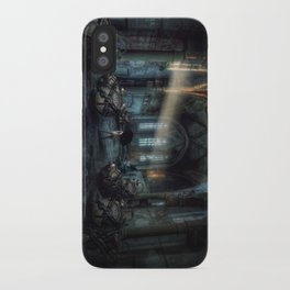 Over time iPhone Case