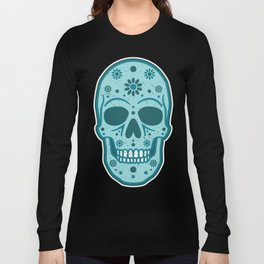 Sugar Skull Blues Long Sleeve T-shirt