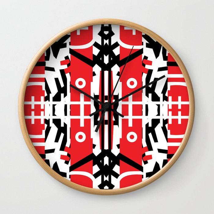 Diablo Rojo x Manuel Jaen (Red Devil) Wall Clock