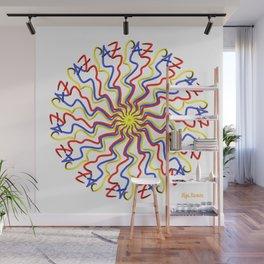 Escribo Paz (Fondo Blanco) Wall Mural