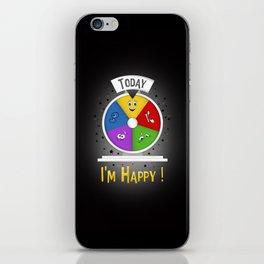 I am Happy iPhone Skin
