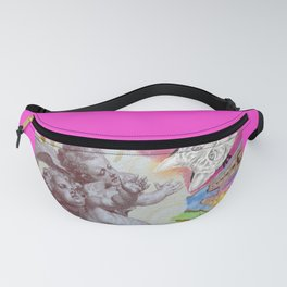 Angel of the cat Fanny Pack