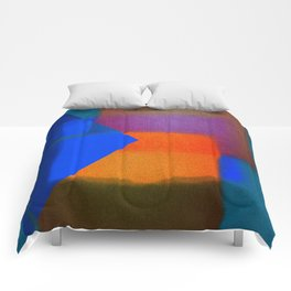Abstract-art in colors Comforters