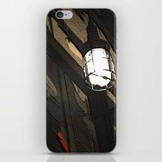 Black and light iPhone & iPod Skin