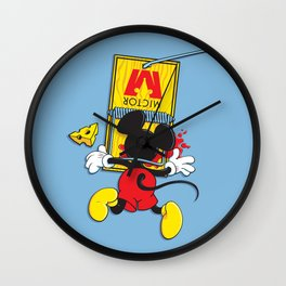 A Better Mousetrap Wall Clock