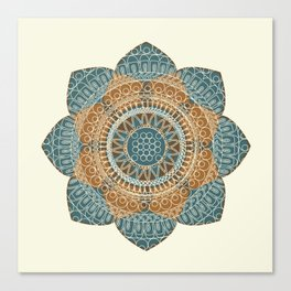Hena Flower Canvas Print