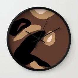 Grasp Wall Clock