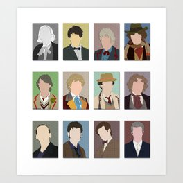 I Am The Doctor Art Print