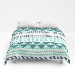 Winter Stripe Comforters