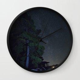 Stars. Wall Clock