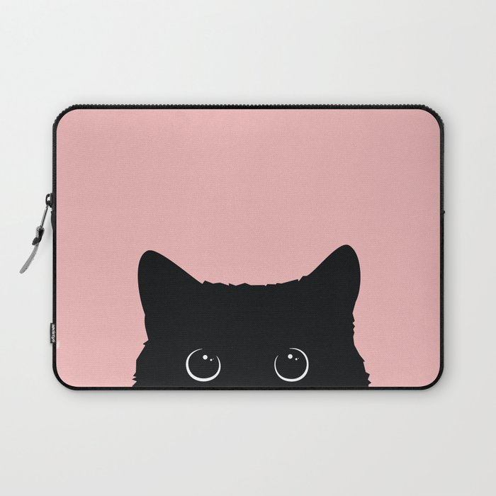 Black Cat Laptop Sleeve