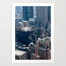 New York City - Manhattan #2 Art Print