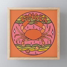 2020 Cancer Framed Mini Art Print