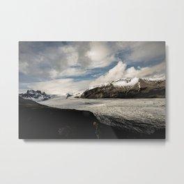 Skaftafellsjökull Metal Print