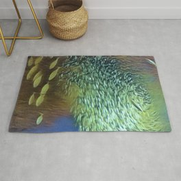 In the Fish Bowl II Rug