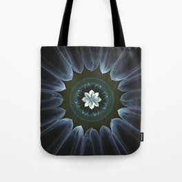 Blossom Within in White Tote Bag