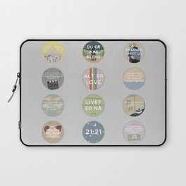 EVAK: A MINIMALIST LOVE STORY VOL. II Laptop Sleeve