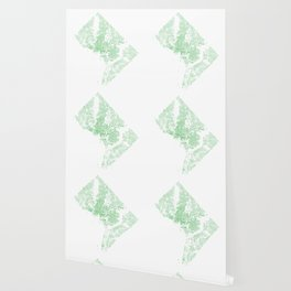 Washington DC Green Building Map Wallpaper