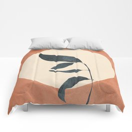 Summer Leaves Comforters