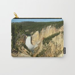 Majestic Yellowstone Upper Falls Carry-All Pouch