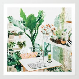 Junglow #illustration #decor Art Print