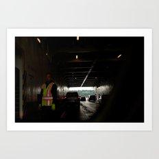 First Ferry Ride Art Print