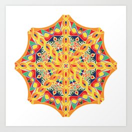 Mandala tibetan dreams Art Print