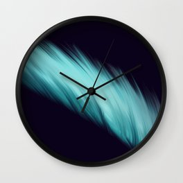 The Blue Feather Wall Clock