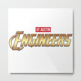 UT Austin Engineers Metal Print
