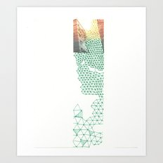 Tall building Art Print