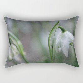 Awake, thou wintry earth! Rectangular Pillow